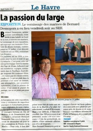 EXPOSITION LE HAVRE 2012